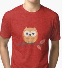 Cute baby owl Tri-blend T-Shirt