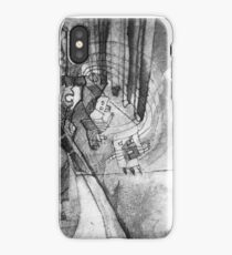 The future of the past iPhone Case