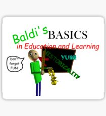 Badi's Basics in Education and Learning Title Screen Sticker