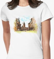 Rome street Womens Fitted T-Shirt