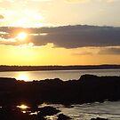 Skerries sunset 3 by Siobhain