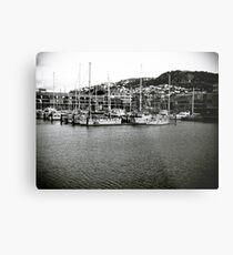 Marina Masts Metal Print