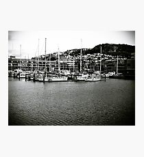 Marina Masts Photographic Print