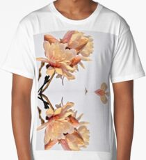 Sunset Glow Star Magnolia 9445 Pattern  Long T-Shirt