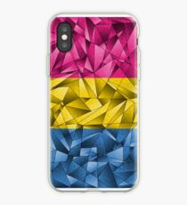 Abstract Pansexual Flag iPhone Case