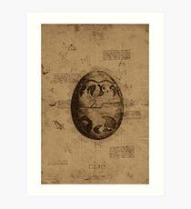 Precursor orb Art Print