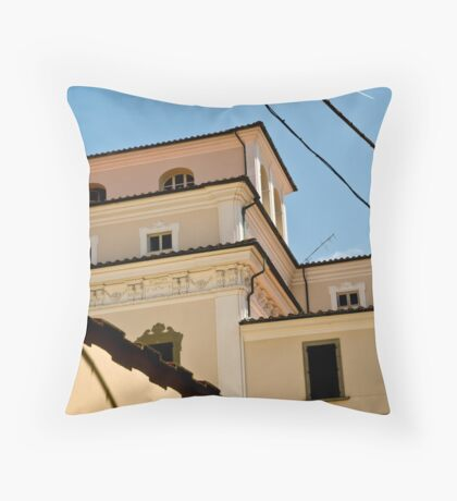 All the lines Throw Pillow