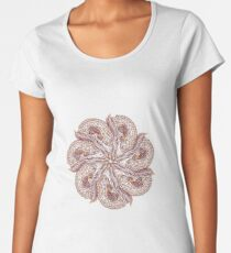Seven Organic Arms Pods Seeds and Leaf Women's Premium T-Shirt