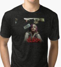 9703bbbdcd Camiseta de tejido mixto Lil Pump Gucci Gang