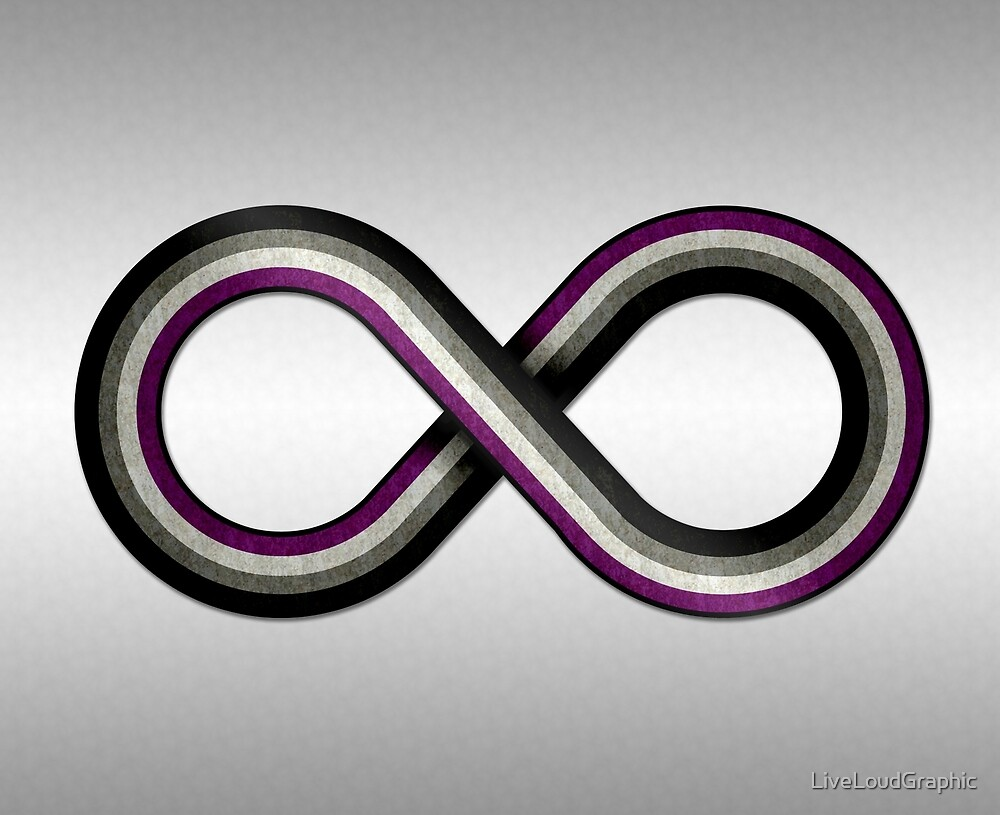 Asexual Infinity by LiveLoudGraphic