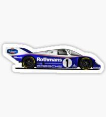 Pegatina Porsche Le Mans, 1980s