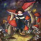 Mushroom Village by EunjiJung