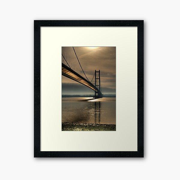 The Real Golden Gate Bridge Framed Art Print