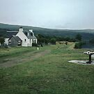 Home at Cullochy Loch, Caledonian Canal Scotland 19840912 0015M  by Fred Mitchell