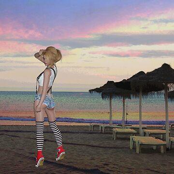 BEACH CHEEKY by Tammera