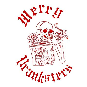 Merry Pranksters - Grateful Dead red by jph298