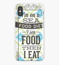 food diet iPhone Case