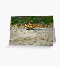 helicopter - version two Greeting Card
