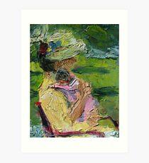 Channeling Cassatt Art Print