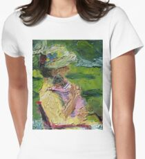 Channeling Cassatt Women's Fitted T-Shirt