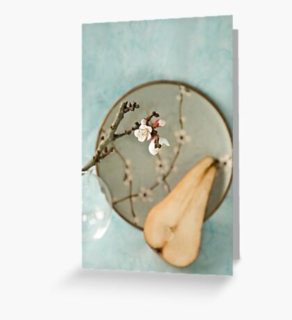 Pear Greeting Card