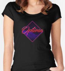 0a7bc2d8f6a74 Camiseta entallada de cuello redondo Optima