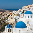 Oia, Santorini, Greece by Barb White