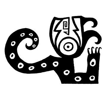 Findigo native horned serpent - tie-snake - by fenixdesign