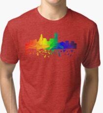 Queen City Pride Tri-blend T-Shirt