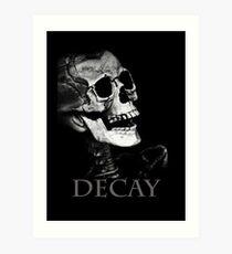 skeleton's head  Art Print
