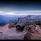 Lincoln's Rock   Blue Mountains by STEPHEN GEORGIOU PHOTOGRAPHY