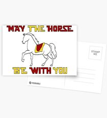 May the Horse Be With You Postcards