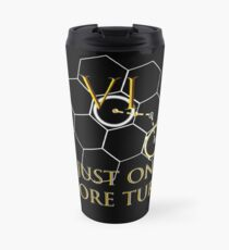 Just one more turn (Black) Travel Mug