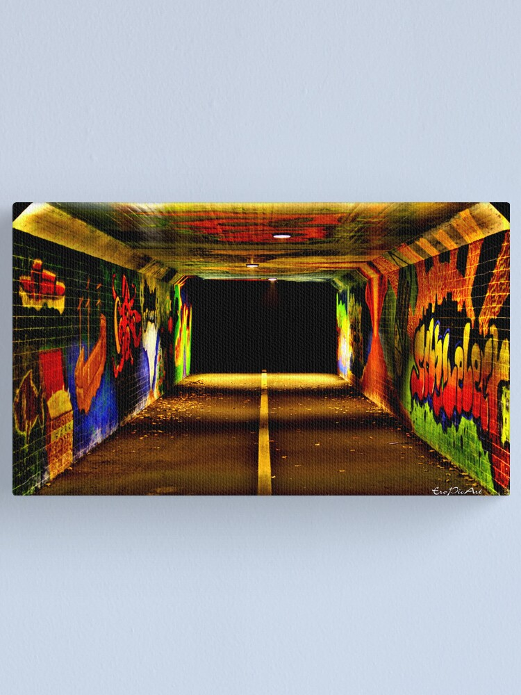 Alternate view of Tunnelblick Canvas Print