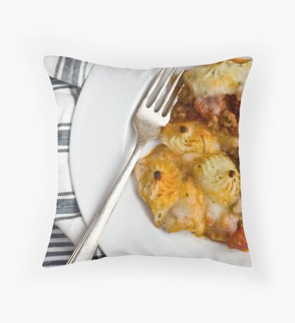 Tuscan Shepherd's Pie Throw Pillow