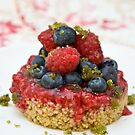 Dessert with berries by Ilva Beretta