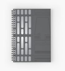 Star Wars Wall  Spiral Notebook