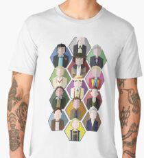 Minimalist Doctors 1-13 Men's Premium T-Shirt