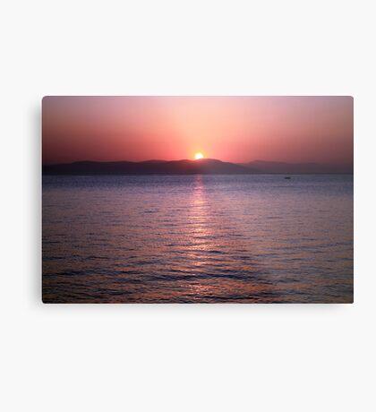 Aegean Sunrise Metal Print