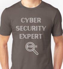 Cyber Security Expert Hacking Fun T-shirt Unisex T-Shirt