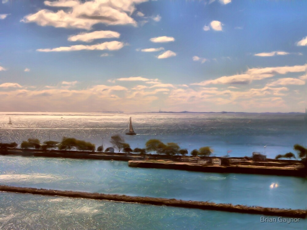 Lakefront Impressions by Brian Gaynor