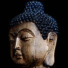 Buddhist Statue in Zen  by Jacqueline Cooper