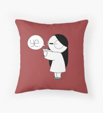 Ye Catana Throw Pillow