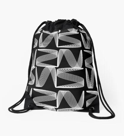 Lissajous_001 Drawstring Bag