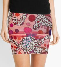 Bloody Coral  Mini Skirt