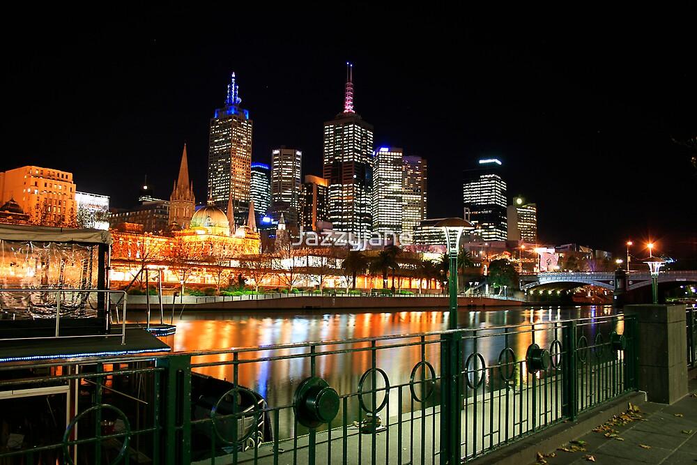 Melbourne Nights by Jazzyjane