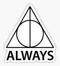 deathly hallows Sticker