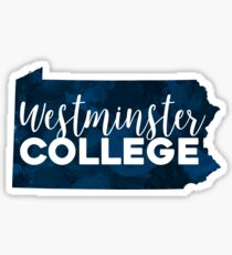 Westminster College Sticker
