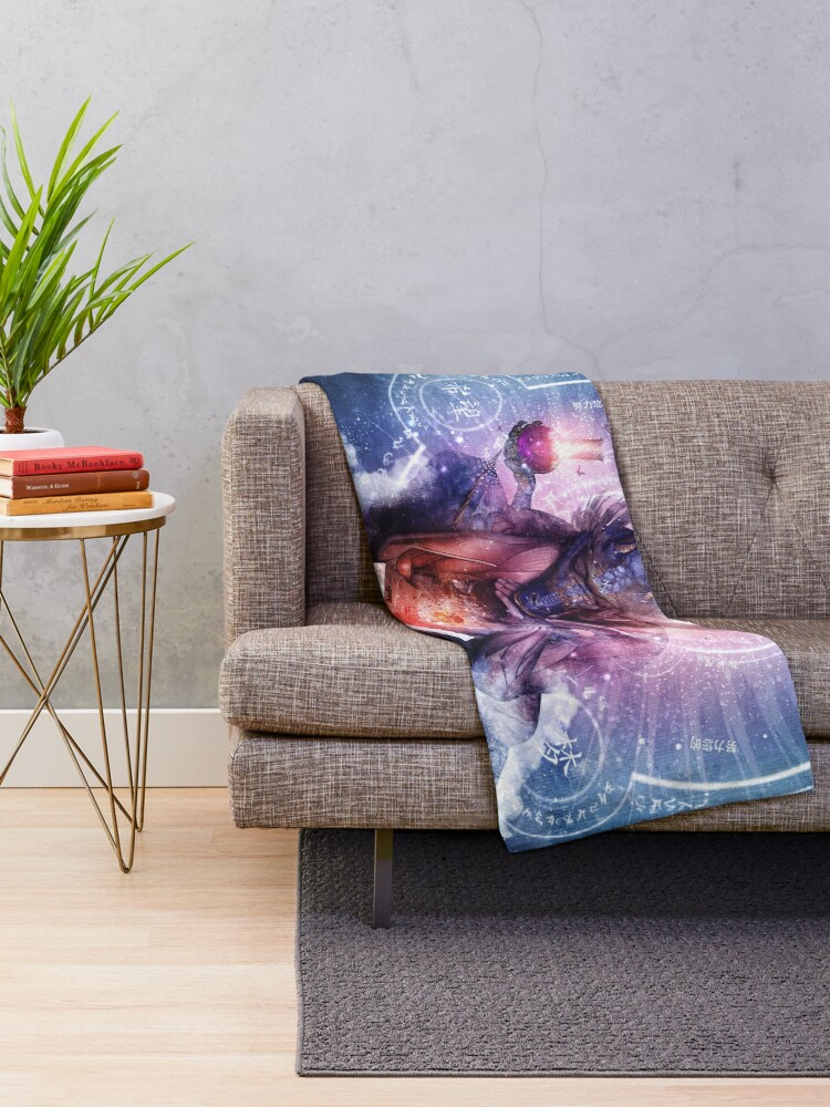 Alternate view of Perhaps The Dreams Are Of Soulmates Throw Blanket