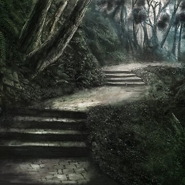 Forest Path by LonelyWinters